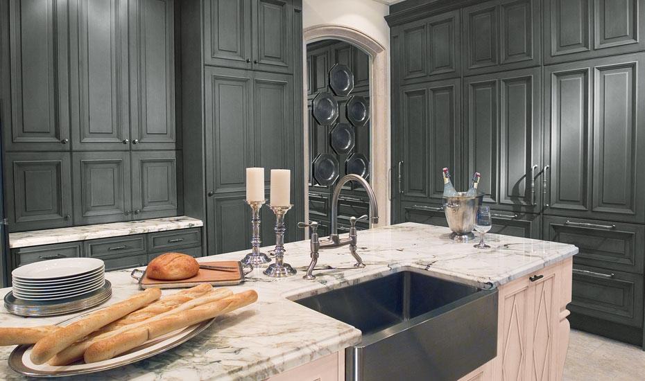 Granite Countertops Dark Cabinets
