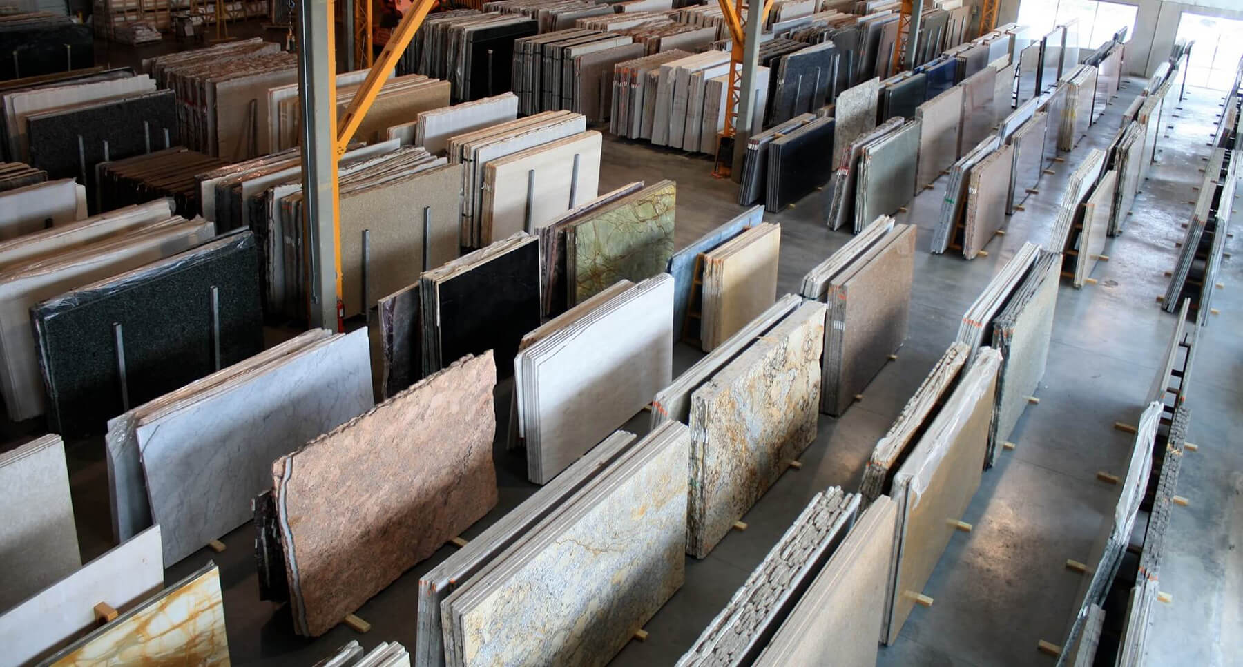 NEKA slab selection warehouse