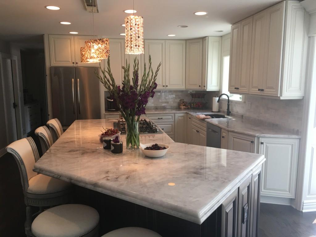 Neka Granite Marble Quartz | Kitchen Trends for 2019